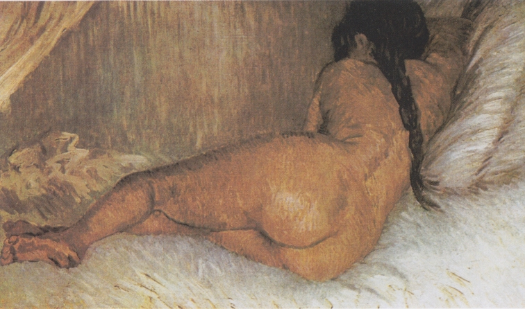 Nude Woman Reclining by Vincent van Gogh