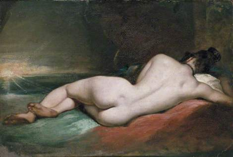 Nude Woman Reclining by William Etty